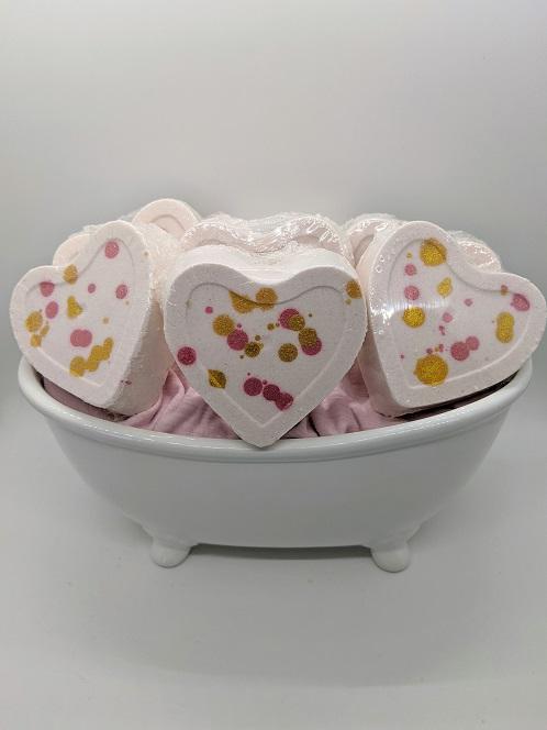 Bath Bomb Heart-Love Spell